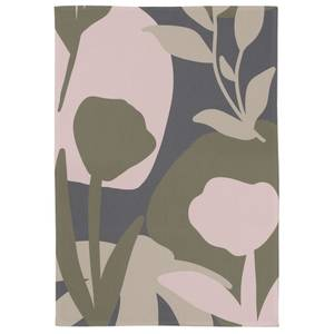 Abstract Natural Floral Tea Towel
