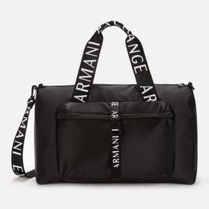 Armani Exchange Men's Duffle Bag - Black