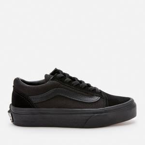 Vans Kids' Old Skool Trainers - Black