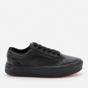 Vans Kids' ComfyCush Old Skool Trainers - Black