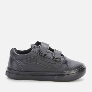 Vans Toddlers' ComfyCush Old Skool Classic Tumble V Trainers - Black