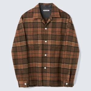 Our Legacy Men's Heusen Shirt - Fox Brown Check