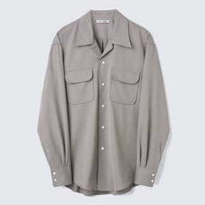 Our Legacy Men's Poco Shirt - Grey Tech Wool