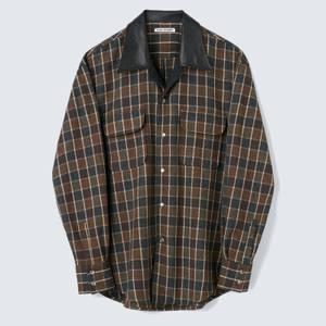 Our Legacy Men's Poco Shirt - Brown Melange Check