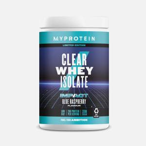 Clear Whey Isolate - Blue Raspberry (20 Servings)