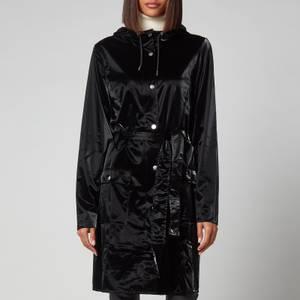 Rains Curve Jacket - Velvet Black