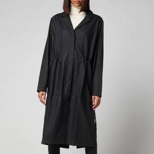Rains String Overcoat - Black