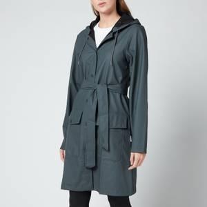 Rains Belt Jacket - Slate