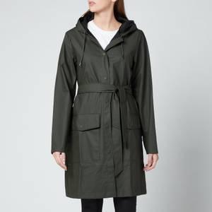 Rains Trekker Hooded Coat - Black