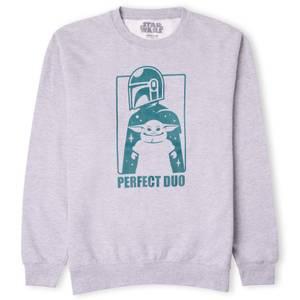 Star Wars The Mandalorian Perfect Duo Sweatshirt - Grey