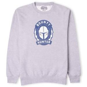 Star Wars The Mandalorian Bounty Hunter Sweatshirt - Grey
