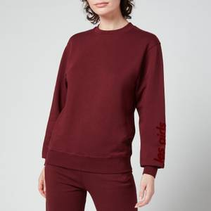 Les Girls Les Boys Women's Loopback Crew Neck Sweatshirt - Red