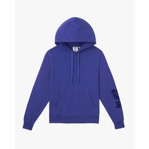 Slim Shrunken Hoodie Spectrum Blue