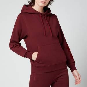 Les Girls Les Boys Women's Loopback Slim Hoody - Red