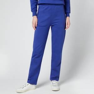Les Girls Les Boys Women's Loopback Straight Leg Joggers - Blue