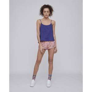 Hazy Daisy Pyjama Shorts Spectrum Blue