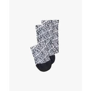 Les Girls Les Boys Women's Lglb Allover Printed Socks - White/Black