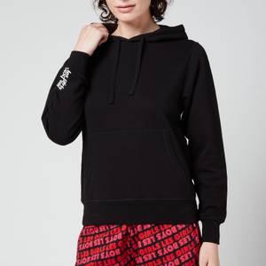 Les Girls Les Boys Women's Slim Fit Hoodie - Black