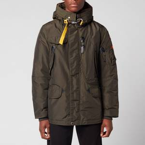 Parajumpers Men's Right Hand Base Hooded Down Jacket - Sycamore