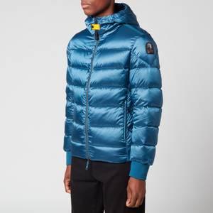 Parajumpers Men's Pharrell Hooded Down Jacket - Mallard Blue