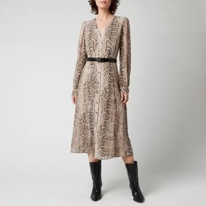 MICHAEL Michael Kors Women's Super Snake Kate Dress - Dune
