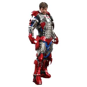 Hot Toys Iron Man 2 Movie Masterpiece Action Figure 1/6 Tony Stark (Mark V Suit Up Version) 31 cm