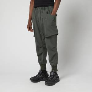 Y-3 Men's Ripstop Utility Pants - Shadow Green
