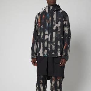 Y-3 Men's Camo Jacket - AOP Black