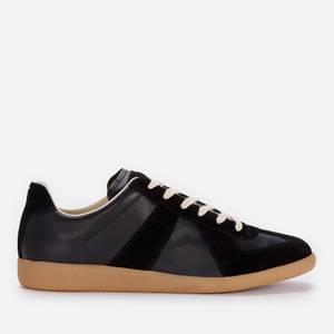 Maison Margiela Men's Replica Low Top Trainers - Black/Black