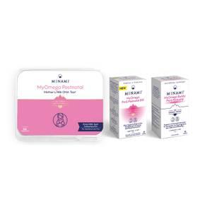 Postnatal Starter Bundle: Postnatal DHA Test + Pre&Postnatal 200mg maintenance dose + Pre&Postnatal Multivitamins