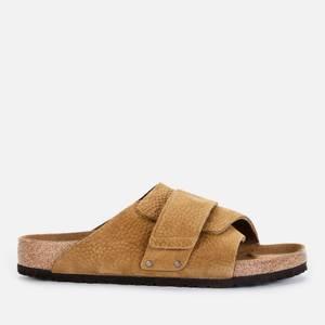 Birkenstock Men's Kyoto Desert Buck Slide Sandals - Tea