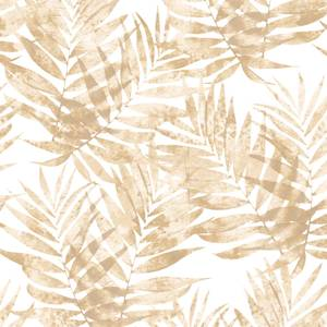 Organic Textures Speckled Palm Brown Wallpaper