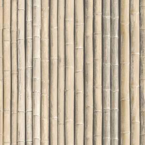 Organic Textures Bamboo Brown Wallpaper
