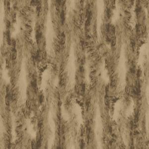 Organic Textures Chinchilla Fur Brown Wallpaper