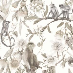 Organic Textures Lemur Beige Wallpaper