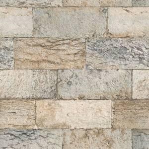 Organic Textures Organic Stone Brown Wallpaper