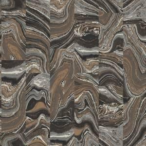 Organic Textures Agate Tile Black Wallpaper