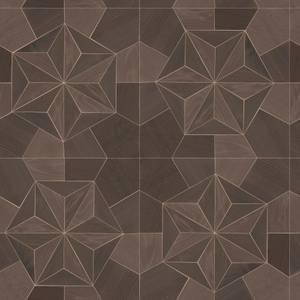 Organic Textures Inlay Wood Brown Wallpaper