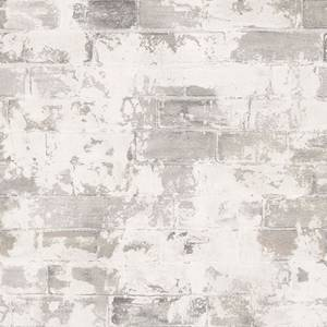 Organic Textures Brick Grey Wallpaper