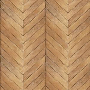 Organic Textures Chevron Wood Warm Brown Wallpaper