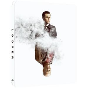 Looper - Zavvi Exclusive 4K Ultra HD Steelbook (Includes Blu-ray)