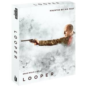 Looper - Zavvi Exclusive 4K Ultra HD Steelbook - Slip Case Edition