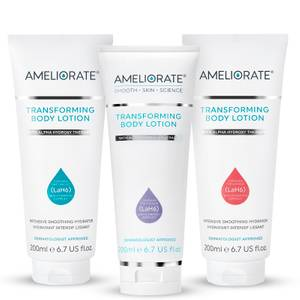 AMELIORATE Floral Transforming Body Lotion Trio (Worth £71.00)