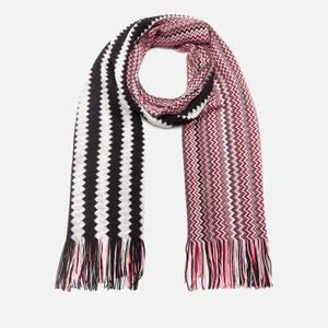 Missoni Women's Wool Mix Scarf - Black & White