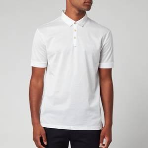 Lanvin Men's Classic Polo Shirt - Optic White
