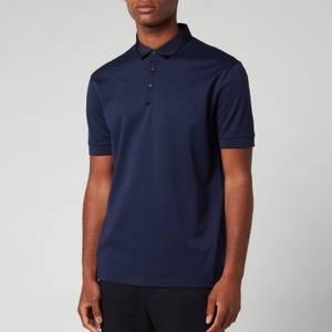 Lanvin Men's Classic Polo Shirt - Navy Blue