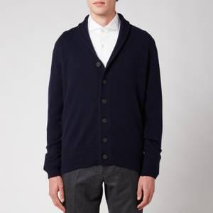 John Smedley Men's Cullen Shawl Collar Jacket - Midnight