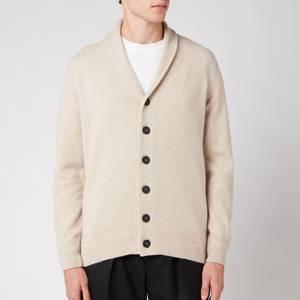 John Smedley Men's Cullen Shawl Collar Jacket - Light Camel
