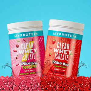 Clear Whey MIKE AND IKE® Flavors