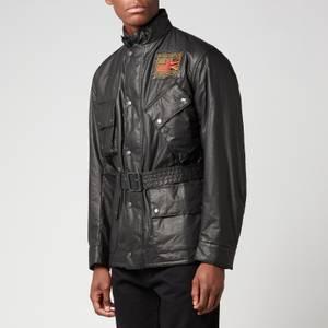 Barbour X Steve McQueen Men's Vintage Joshua A7 Casual Jacket - Black